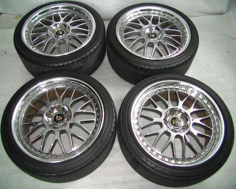 WORK VS-XX 18 8J 9J 5x114 Alloy wheels rims R32 R33 S14 S15 R34