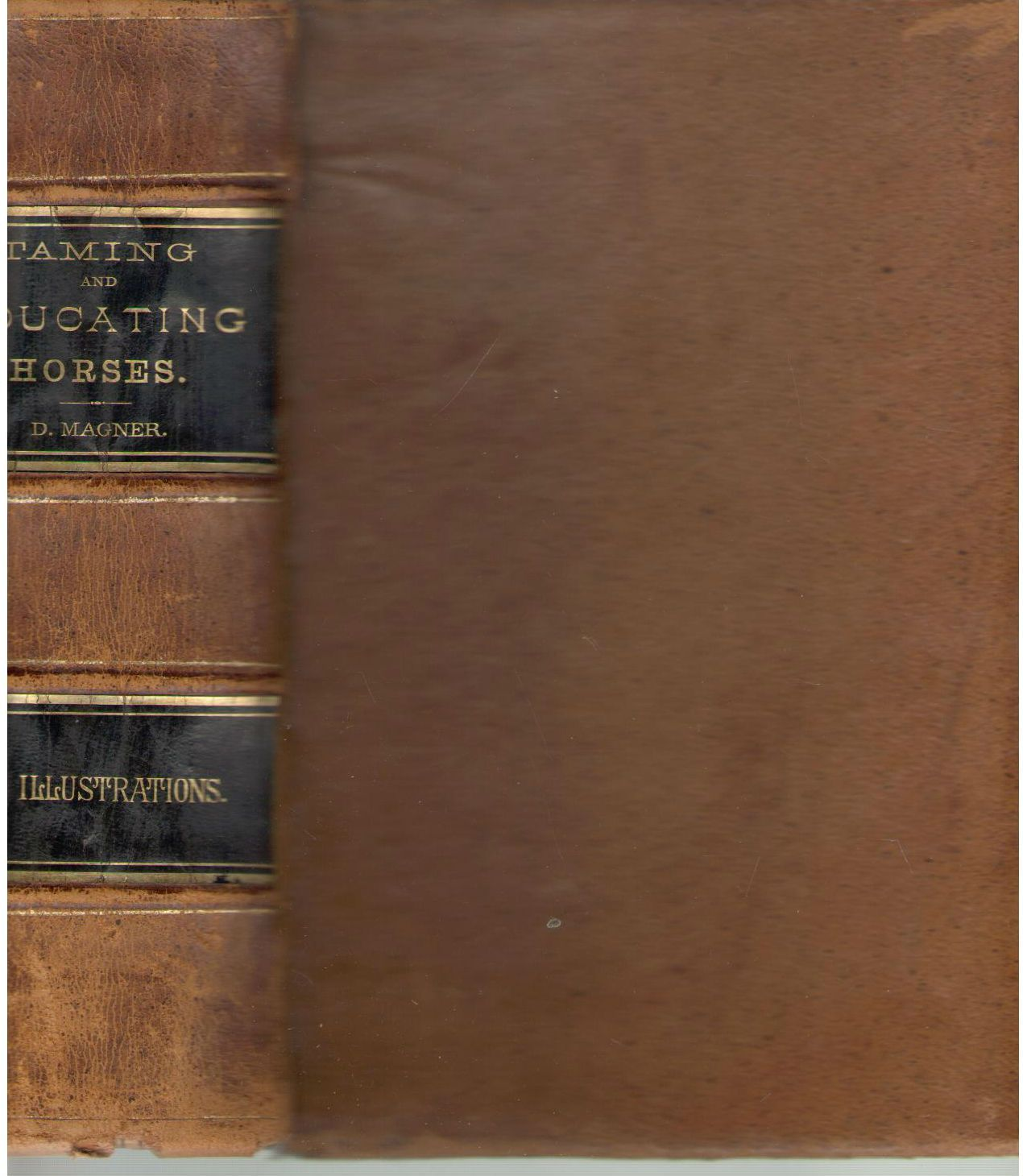 The art of taming and educating the horse: With details of management in the subjection of over forty representative vicious horses, and the story of ... etc. : with a large number of recipes, Magner, D