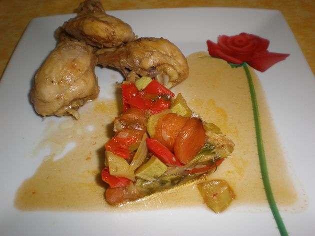converdura - ▷ Muslos de pollo en jugo de cebolla  