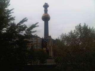 Wien - Fermwaerme - Hundertwasser