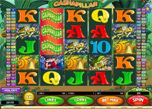 No Download Needed To Play The Free Cashapillar Slot Machine