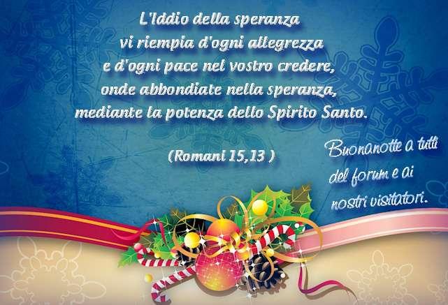 Famoso Buonanotte!» e 5! - Forum di evangelici.net VV38
